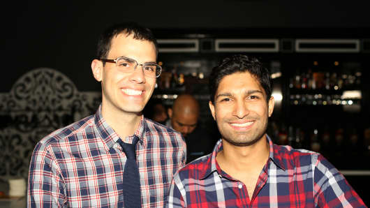 Steve Szaronos (L) and Rishi Prabhu (R) are the founders of Bespoke.