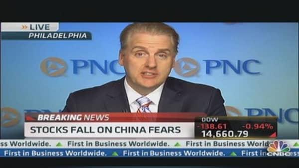Stocks Fall on China Fears