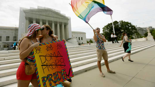 The high court is expected to rule this week on some high profile decisions including California's Proposition 8, the controversial ballot initiative that defines marriage as between a man and a woman.