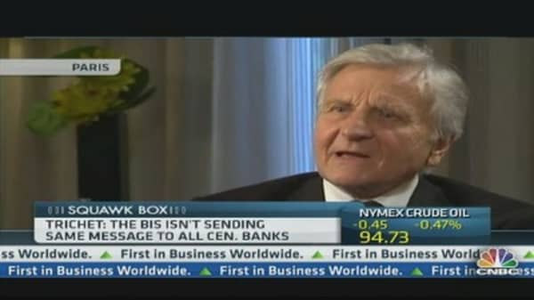 Central Banks Can't Do Everything: Trichet