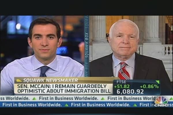 Sen. McCain: Snowden Scandal 'Reminiscent' of Cold War Era