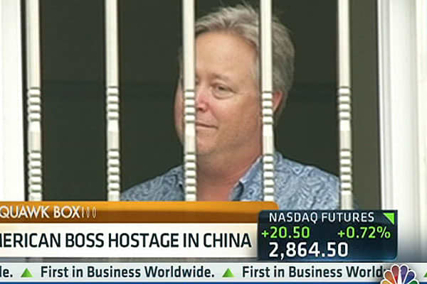 American CEO Held Hostage in China