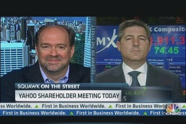 Yahoo! Shareholders Meet Today