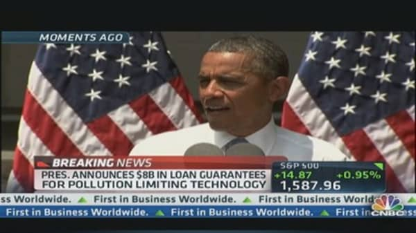 President Unveils Climate Plan