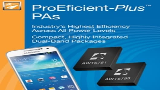 ANADIGICS ProEficient-Plus PAs Power Samsung Galaxy S 4 Mini
