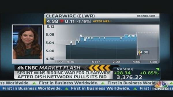 Sprint Wins Clearwire War