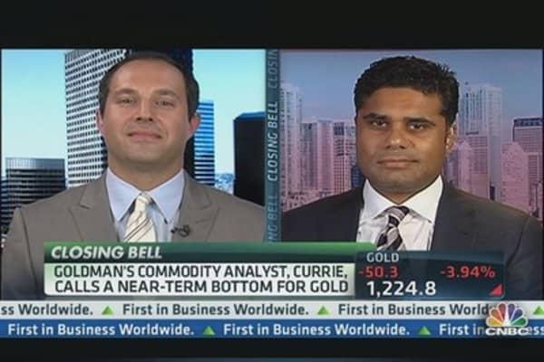 Goldman Sachs: Gold Near Bottom