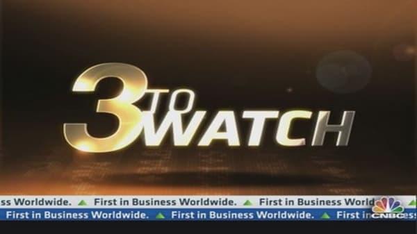 3 to Watch: KBH, CAG, NKE