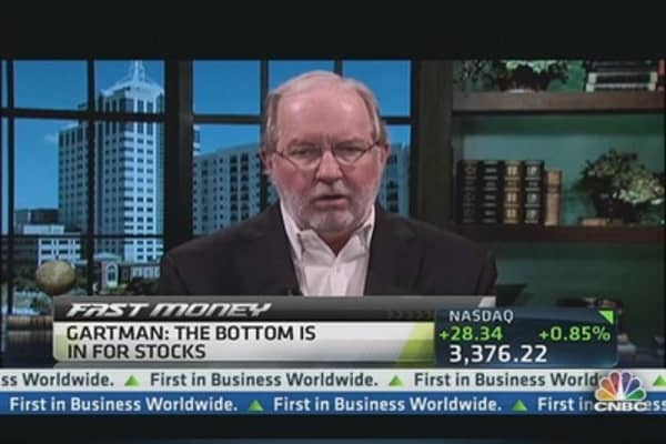 'It's the Bottom' for Stocks: Gartman