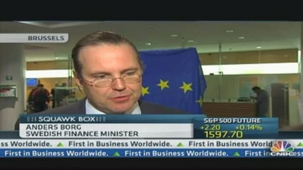 Bank Funding Will Be More Risky: Swedish Fin Min