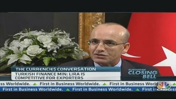 Lira Top for Competitiveness: Turkish Minister