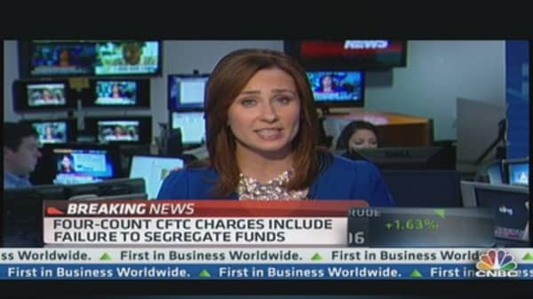 CFTC Sues MF Global Executives