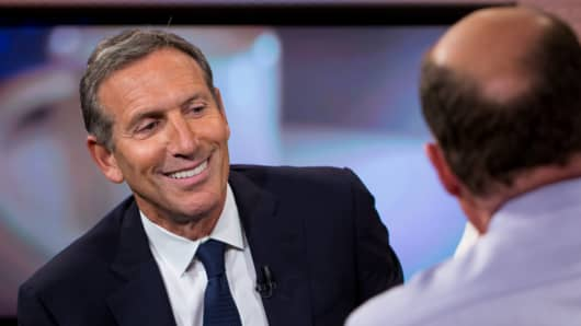 Howard Schultz, CEO of Starbucks on Mad Money