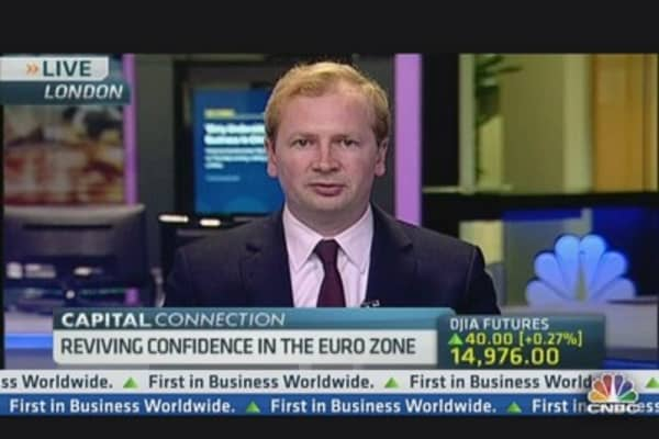 An End to the Euro Zone Recession?