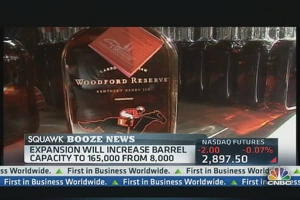 Brown-Forman's Big Bet on Bourbon