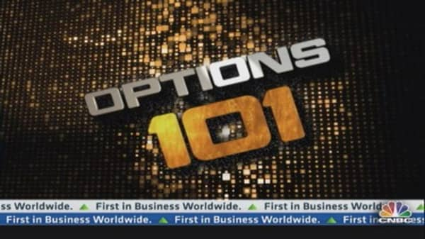 Options Action Web Extra: Trading Apple