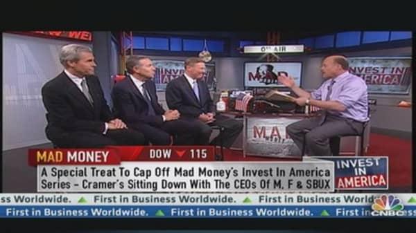 Cramer's Power Panel: 3 Big CEOs