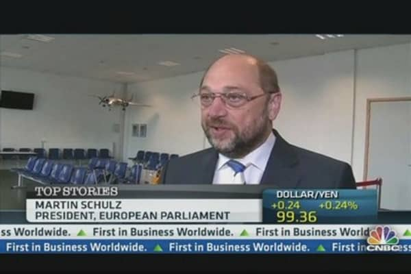 EU's Schulz on US Spying:  We're Not the 'Enemy'