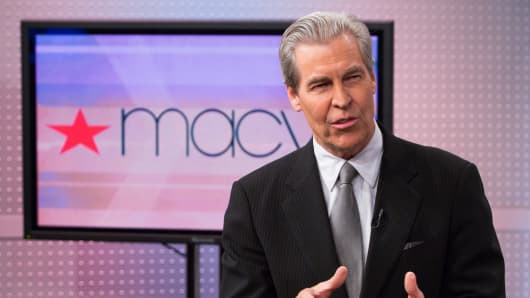Terry Lundgren, chairman and CEO of Macy's.