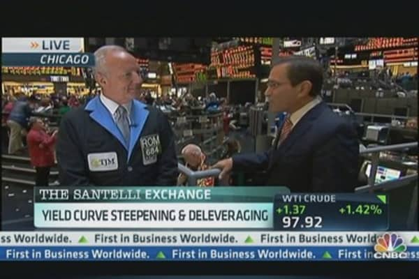 Why Santelli's Watching Widening Yield Curve