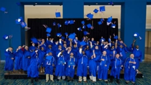 Ingalls' Apprentice School Graduation