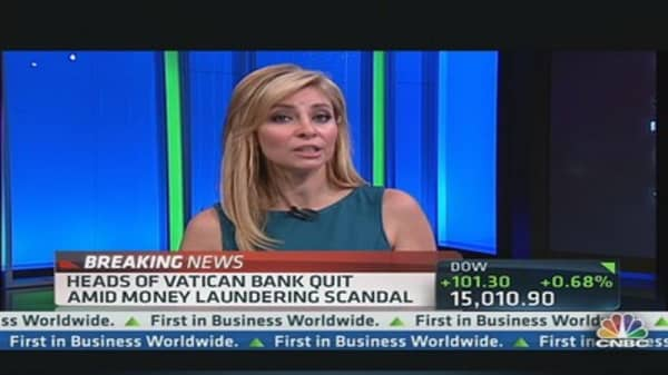 Heads of Vatican Bank Quit