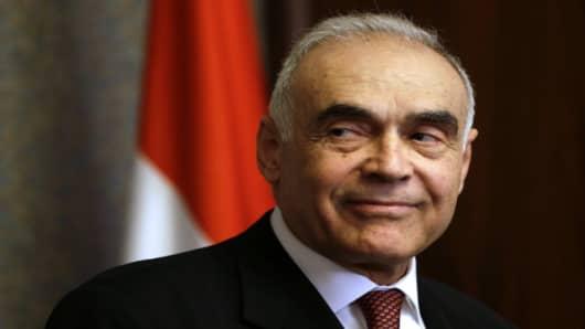 Former Egyption Foreign Minister Mohammed Kamel Amr