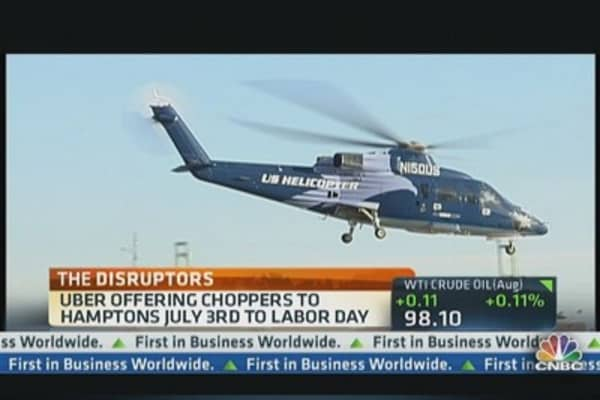 Uberchopper Offers $3,000 Ride to Hamptons