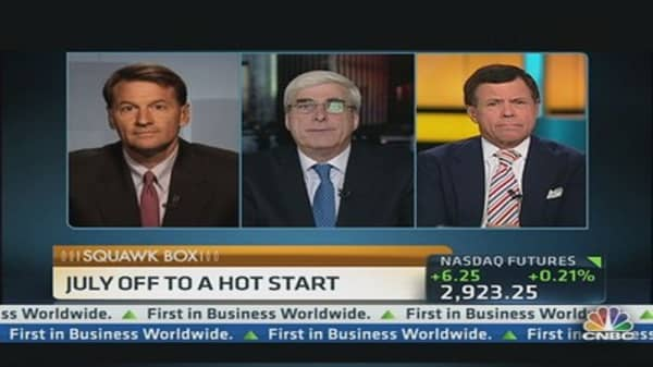 July Markets Off to a Hot Start