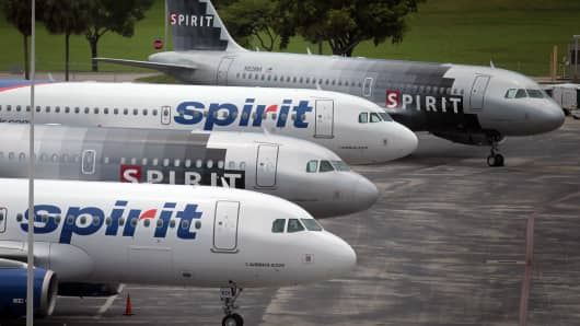 Spirit airlines posts earnings of a share vs 96 for Spirit airlines one way