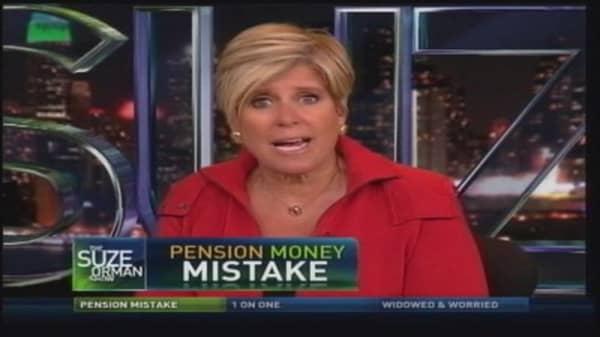 Pension Money Mistake