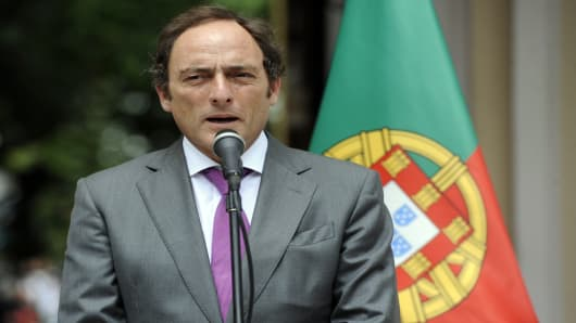 Portuguese Foreign Minister Paulo Portas