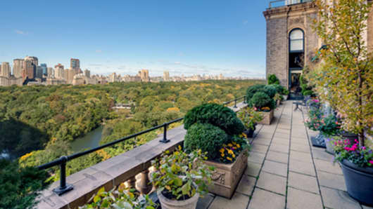 This penthouse at the Sherry Netherland Hotel is currently on the market for $95 million.