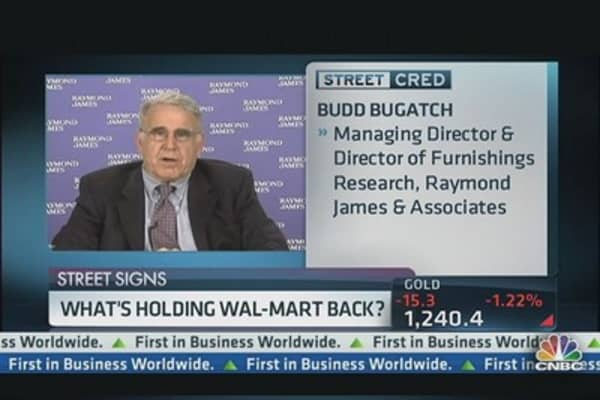 What's Holding Wal-Mart Back?
