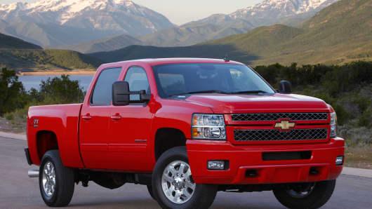 A Chevrolet Silverado