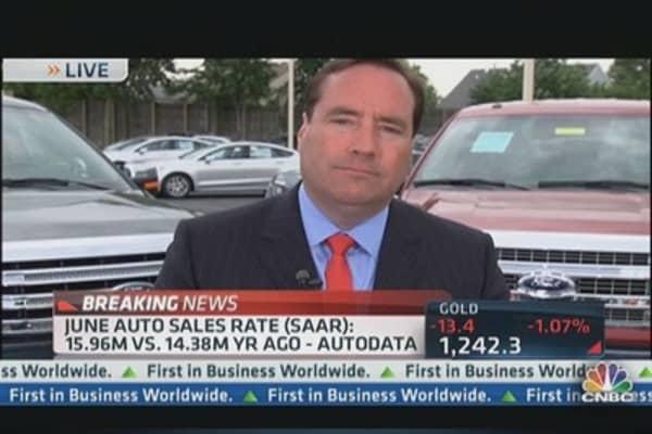 June Auto Sales