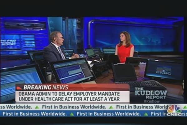 Obamacare Employer Mandate Delayed