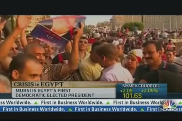Egypt's Morsi and Military in Standoff