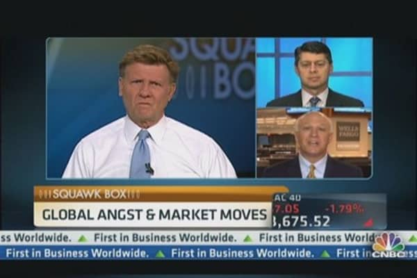 Global Angst Pressures Markets