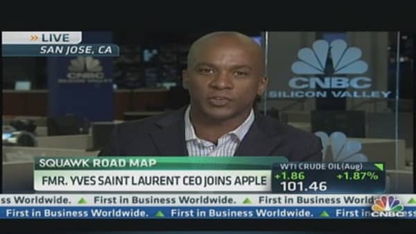 6969df2ac4e Apple Hires Former Yves Saint Laurent CEO for 'Special Projects'