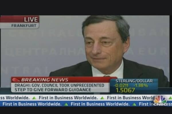Anchor Grils Draghi on Forward Guidance