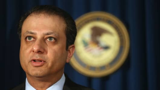Attorney for the Southern District of New York Preet Bharara.