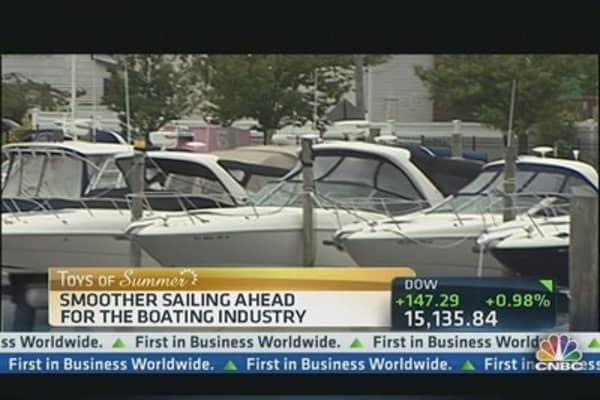 Viking Yachts Sees Comeback