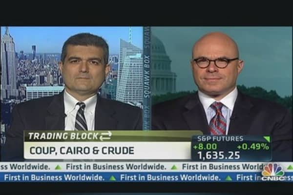 Currencies & Crude Amid Cairo Coup