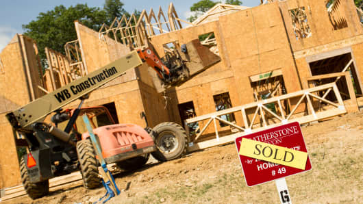 New home construction in Avon, CT.