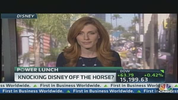 Knocking Disney Off the Horse?