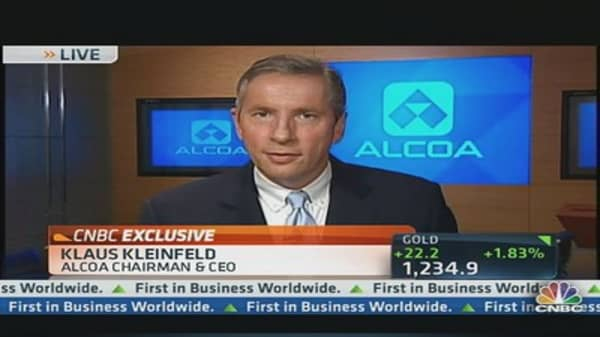 Alcoa CEO: Automotive Market in N. America Is Strong