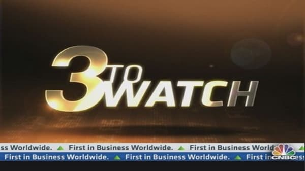 3 to Watch: AA, BBRY, AAPL