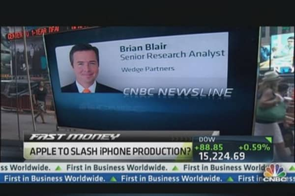 Apple to Slash iPhone Production?