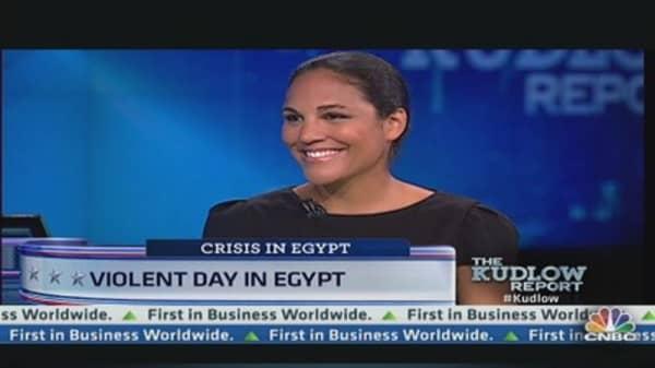 Violent Day in Egypt